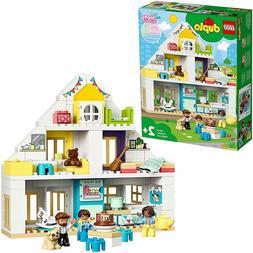 LEGO 10929 DUPLO Town Modular Playhouse 3-in-1 Set, Dolls Ho