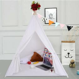 160x120cm Tent Kids Indian Indoor Outdoor Tipi Play Tent Gir