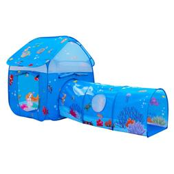 2 in 1 kids play tent children