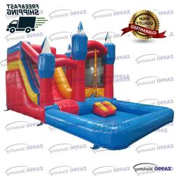 20x13ft Commercial Inflatable Bouncy House Water Slide & Poo