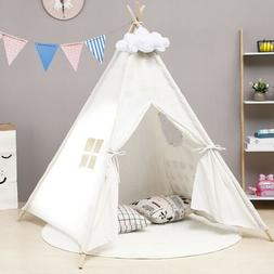 "43"" Children Indian Play Tent Teepee Kids Playhouse Sleeping"