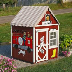 Little Cottage Company 4x4 Sweetbriar Playhouse with Davos R