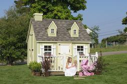 Little Cottage Company 6x8 Cape Cod Playhouse