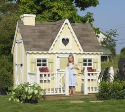 Little Cottage Company 6x8 Victorian Playhouse