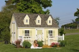 Little Cottage Company 8x12 Cape Cod Playhouse