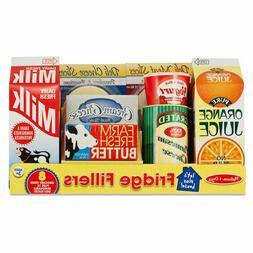 Melissa & Doug Fridge Groceries Play Food Cartons  - Toy Kit