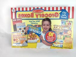 Melissa & Doug Let's Play House! Grocery Boxes Play Food Kit
