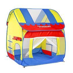 Truedays Kids Outdoor Indoor Fun Play Big Tent Playhouse, 55