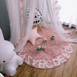 Baby Mosquito Net Bed Canopy Crib Yarn Curtain Play House Te