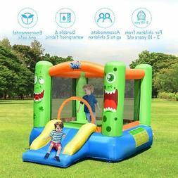Backyard inflatable Bounce House Kids Castle Slide Jumping P