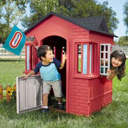 Backyard Playhouse Cape Cottage Little Tikes Play House For