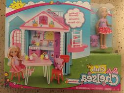 Barbie CHELSEA PLAYHOUSE Club Chelsea Doll Playset Halloween