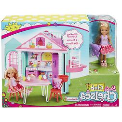 Barbie Club Chelsea Playhouse with two Floors & Working Elev