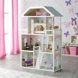 Barbie Dream House Size Dollhouse Furniture Girls Playhouse