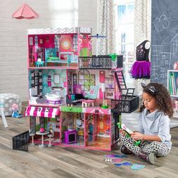 Barbie Size Dollhouse Girls Playhouse Furniture Dream Play W