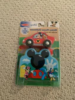 Brand New Melissa and Doug Mickey Mouse clubhouse playhouse