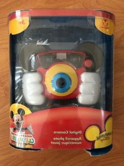 BRAND NEW Playhouse Disney Digital Camera Mickey Mouse Clubh