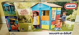 LITTLE TIKES BUILD-A-HOUSE NEW