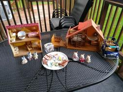 Calico Critters Epoch House Play Sets Lakeside Lodge Cozy Co