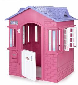 Little Tikes Cape Cottage Princess Playhouse with Working Do