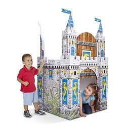 Melissa & Doug Cardboard Structure Castle Playhouse