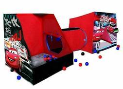 Cars Playville Tent Playhut Playhouse Pop Up Hut Balls Indoo
