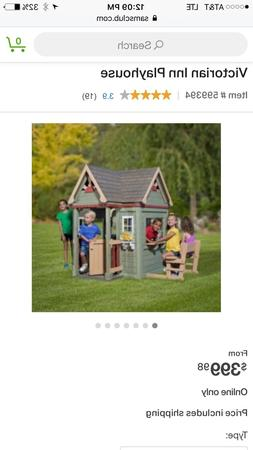 Cedar Playhouse Outdoor Playhouses for Kids Outdoor Wooden V
