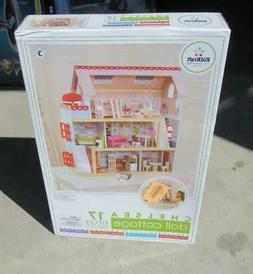 KidKraft Chelsea Doll House Cottage with 17 piece Furniture