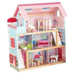KidKraft Chelsea Wooden Dollhouse Pretend Play House Cottage