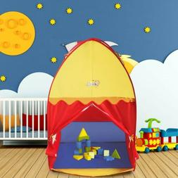Children In/Outdoor Play Tent Playhouse Castle House Portabl