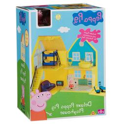 Peppa Pig deluxe playhouse  Play house with Peppa Figure acc
