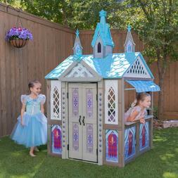 KidKraft Disney Frozen Arendelle Wooden Playhouse Set Outdoo
