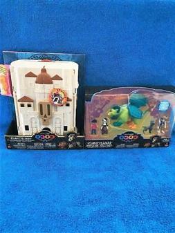 Disney Pixar Coco Skullectables Figure Set & Play House Play