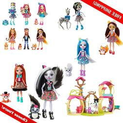 Enchantimals Doll Figure & Animal Sets  *Choose Your Favorit