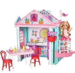 Barbie Doll House Club Chelsea Playhouse, 2-Story Dollhouse