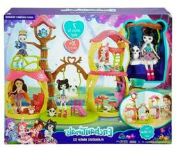 Mattel Enchantimals Playhouse Panda Set, 20+ Pieces