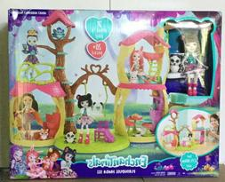 Mattel FCG94 Enchantimals Playhouse Panda Set NEW