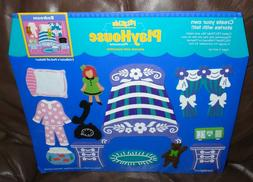 FELTKIDS Play House Bedroom 1999 Play Set by Learning Curve