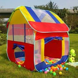 Foldable Children Play Tent Outdoor Lawn Camping Tent Kids P