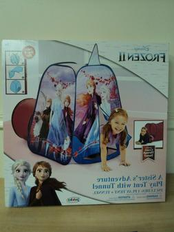 Disney Frozen 2 A Sister's Adventure  Pop-up Play Tent Playh