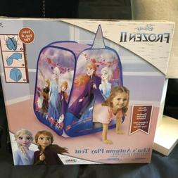 Disney Frozen 2 Indoor Outdoor Pop-up Tent Playhouse Elsa'