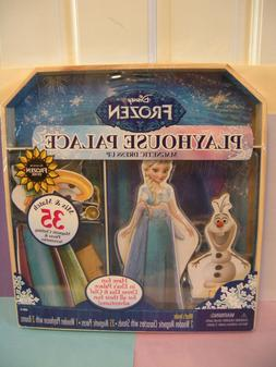 Disney Frozen Elsa Olaf Wooden Magnetic Dress Up & Playhouse