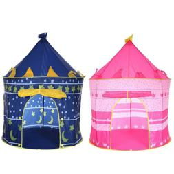 Princess Prince Castle Play House Tent Children Kids Girls B
