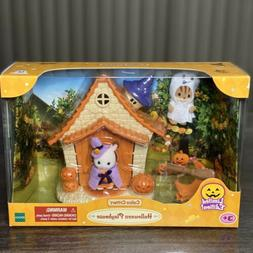 Calico Critters Halloween Haunted Playhouse Set Limited Edit
