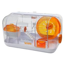 Hamster Habitat Cages Playhouse Mice Gerbil Wheel Exercise S