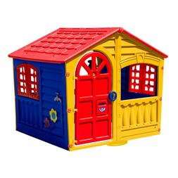 PalPlay House of Fun Playhouse in Yellow unisex cottage INDO