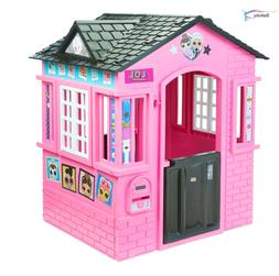 L.O.L. Surprise! Indoor & Outdoor Cottage Playhouse with Gli