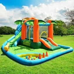Inflatable Bounce House Kids Slide Bouncer Jump Castle Playh