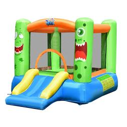 INFLATABLE BOUNCE HOUSE WITH SLIDE JUMPER CASTLE KIDS SAFE M