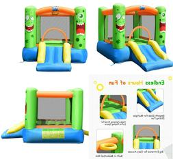 Inflatable Bounce House With Slide Jumper Castle Bouncy Kids
